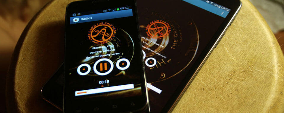 radios application