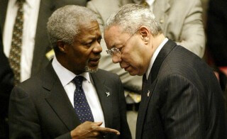 "Who is Kofi Annan? The United Nations ""Peacekeeper"" Handpicked by the CIA"