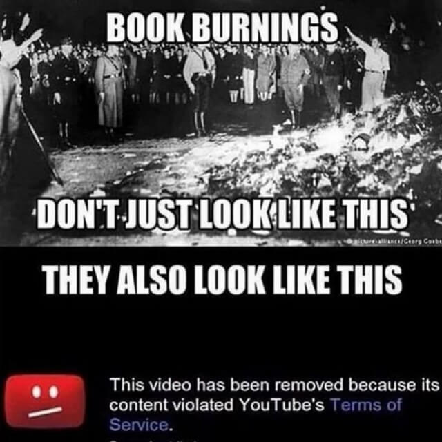 Book Burnings Don't Look Just Like This
