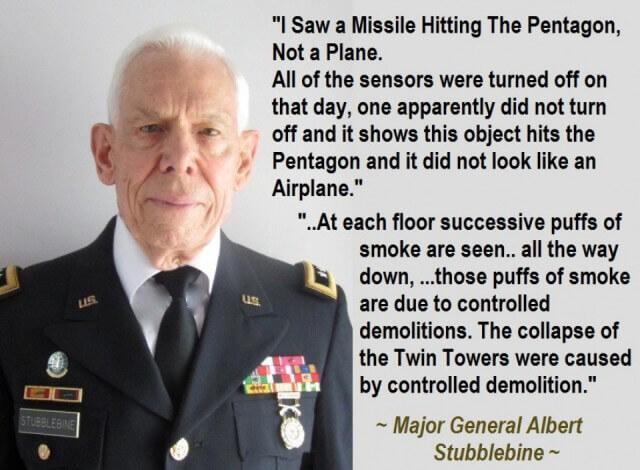 "Gen. Stubblebine on 9/11 - ""OH MY GOD!!!!"""