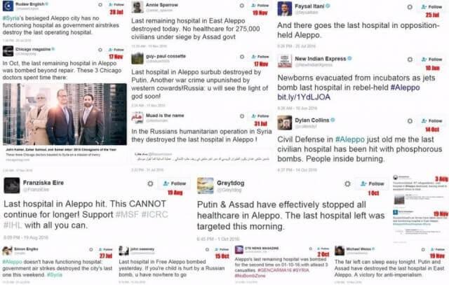 Last hospital in Aleppo