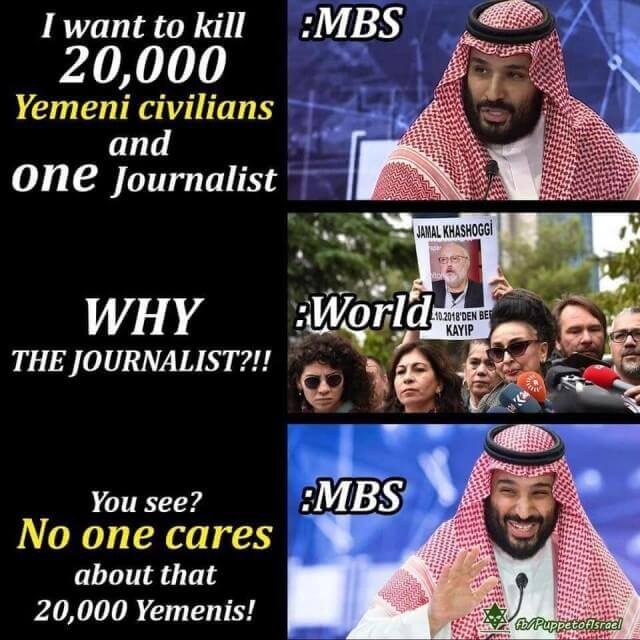No one cares about that 20000 Yemenis!