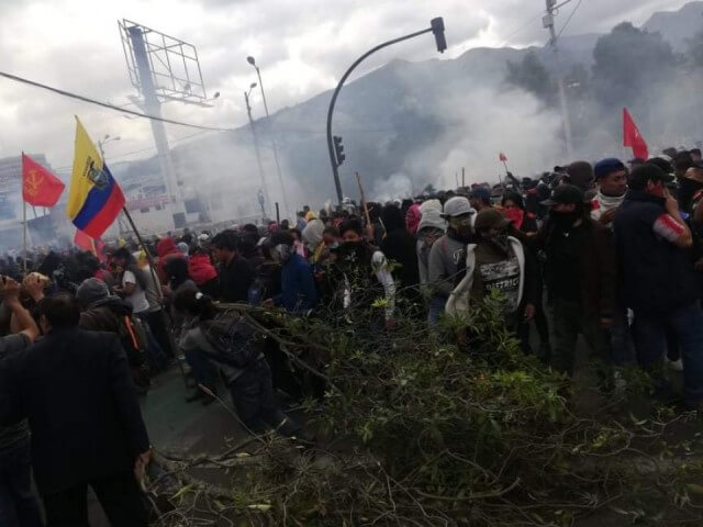 Revolution in Ecuador