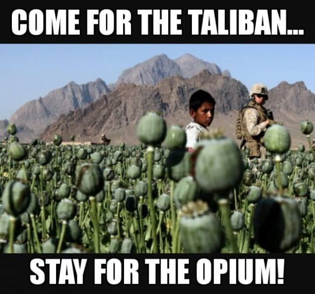 Stay for the opium