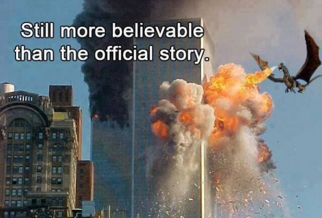 Still more believable than the official story