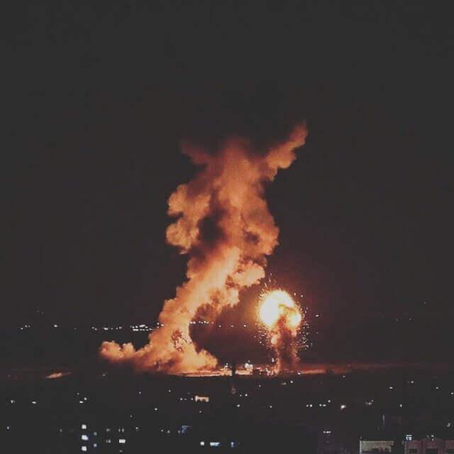 The bombing of Gaza 12.11.2018