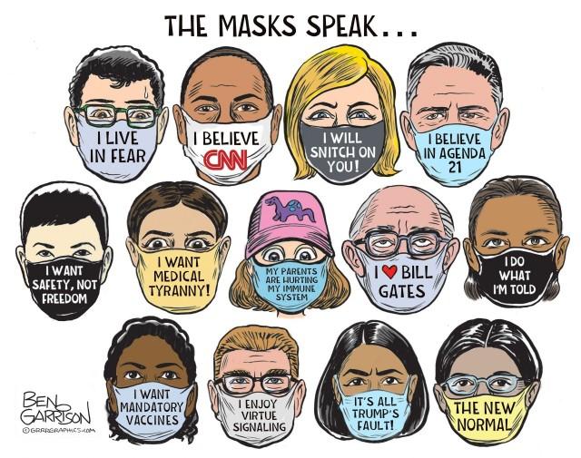 The Masks Speak...