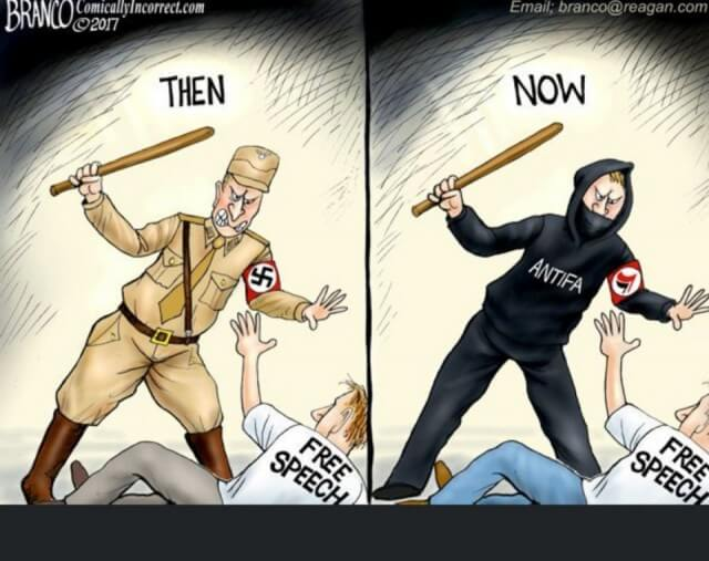 Then and Now - Fascists and Antifa