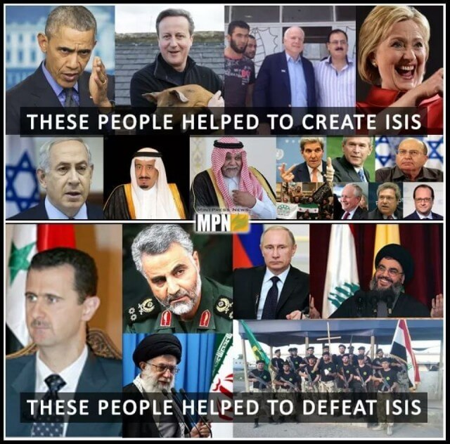 These People Helped To Create ISIS