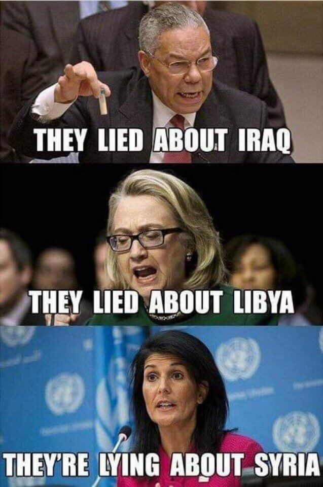 They Lied About