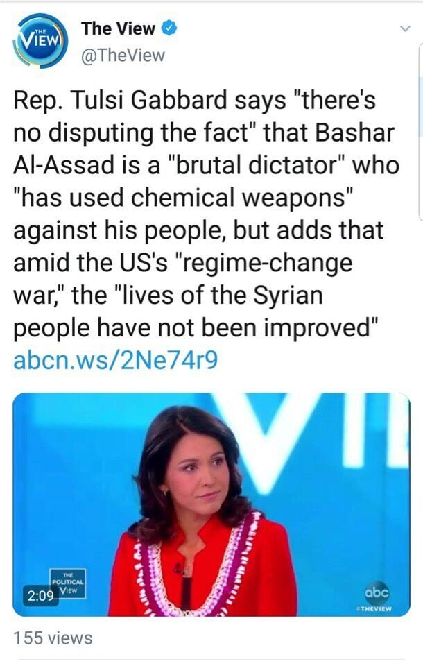 "Tulsi ""Champion of Freedom"" Gabbard"