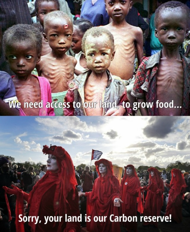 We need access to our land, to grow food