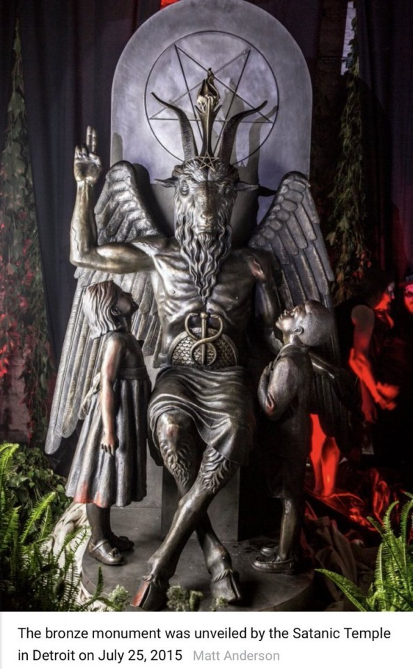 Why doesn't anyone write a petition about the demolition of Satan's statue in Detroit?