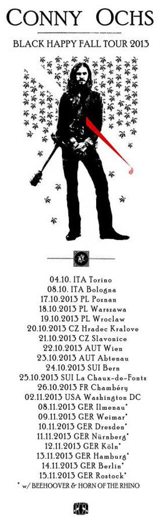 Koncert Conny Ochs - Slavonice, Babeta Butique - 21.10.2013