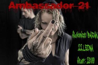 Koncert Ambassador 21, Black Hill - Slavonice, The Barakos - 22.01.2016