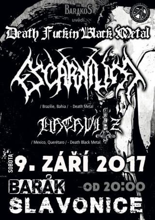 Koncert Escarnium, Hacavitz - Slavonice, The Barakos - 09.09.2017