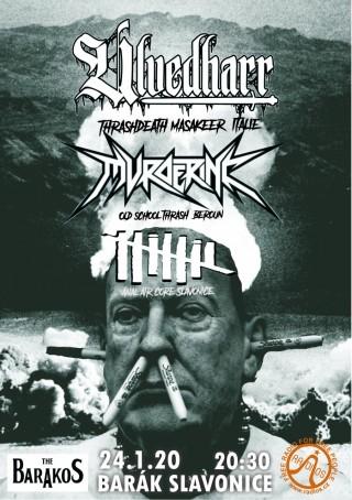 Koncert Ulvedharr, Murder inc, Nihil The Barakos - 24.01.2020