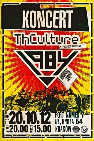 Koncert THCulture, 1984 - Kraków (pl), Fort Nr 7 - 20.10.2012