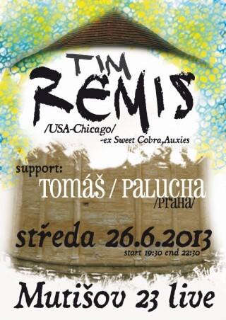 Koncert Tim Remis, Tomas Palucha - Mutisov 23 near Slavonice - 26.06.2013