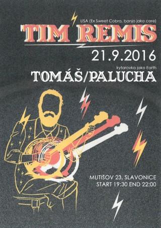 Koncert Tim Remis, Tomas Palucha  - Mutisov 23 near Slavonice - 21.09.2016