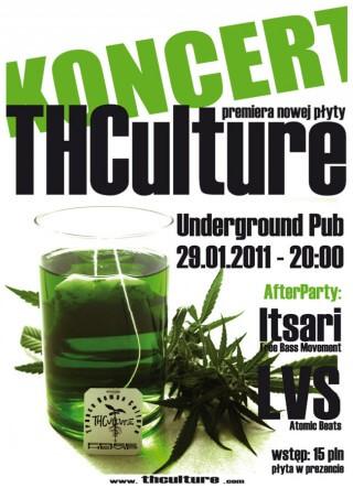 Koncert THCulture, Itsari, LVS - Rzeszów (PL), Underground Pub - 29.01.2011