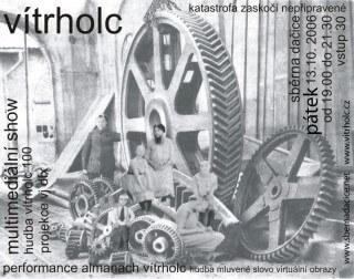 Koncert Vĺtrholc - Dacice, Sběrna - 13.10.2006