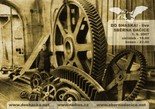 Koncert Do Shaska!  - Dacice, Sběrna - 01.06.2007