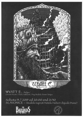 Koncert Wyatt E. - Slavonice - 13.07.2019