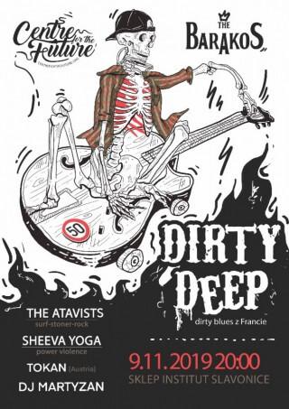 Koncert Tokan, Sheeva Yoga, Dirty Deep, The Atavists, Dj Martyzan - Slavonice, Institut - 09.11.2019