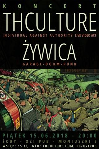 Koncert THCulture, Żywica - Żory (PL), Ozi Pub - 15.06.2018