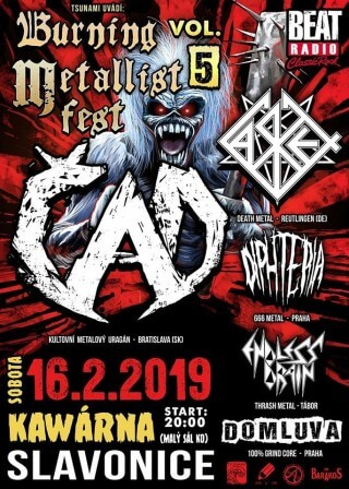 Burning Metallist Fest Vol. 5 - 16.02.2019