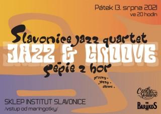 Pátek 13. srpna jazzy & groovy koncert ve sklepě Institutu slavonice