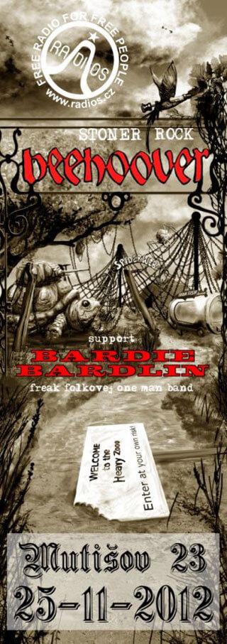 Koncert BEEHOOVER and BARDIE BARDLIN