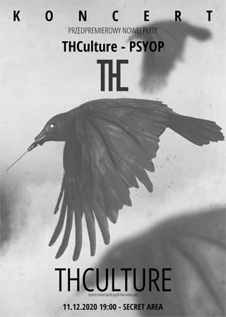 Koncert przedpremierowy THCulture - PSYOP - 11.12.2020