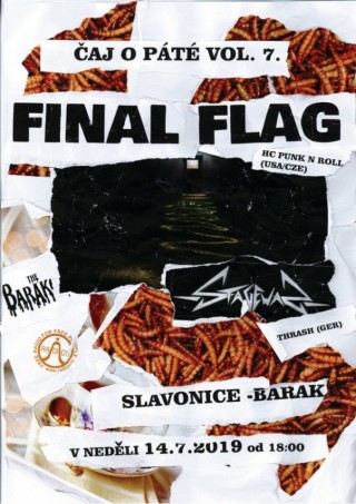 Koncert Stagewar, Final Flag ve Slavo