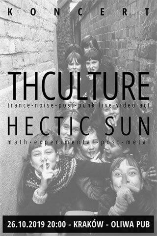 Concert THCulture + Hectic Sun - Kraków - Oliwa Pub - 26.10.2019