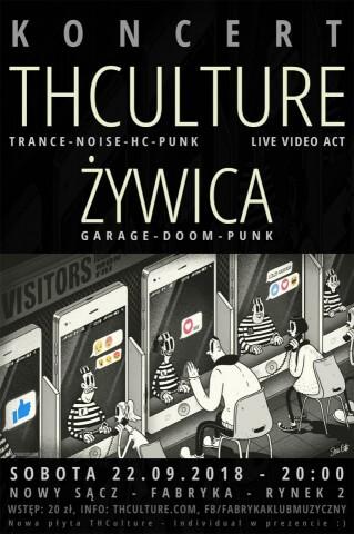 Koncert THCulture i Żywica - Nowy Sącz - FABRYKA - 22.09.2018