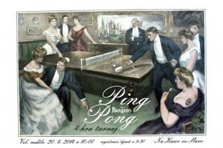 Pink Pong na kawo ve slavo na velikonocni nedeli