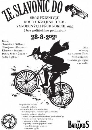 Pozvánka na Cyklo jizdu na starých kolech