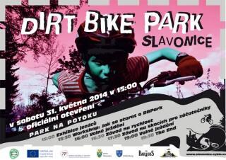 Pozvánka na otevření Dirt Bike Parku na potoku