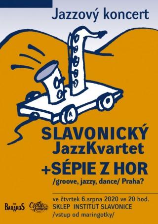 Slavonický jazz kvartet a Sépie z hor