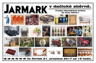 Tradičně netradiční Jarmark v Dačické Sběrně 2017