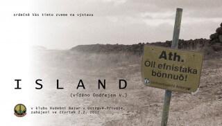 Vystava Ondrej Vala - Island
