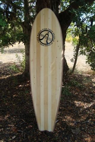 WOODEN BOARD DEL SURF